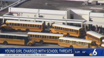 Young Girl Charged With School Threats in Davie