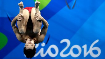 Diving: China's Cao Dominates Men's 3m; No Medals for US