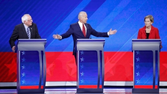 Liberal, Moderate Divide on Display in Democratic Debate