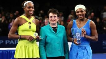 Venus, Serena Williams Join Billie Jean King Equal Pay Push