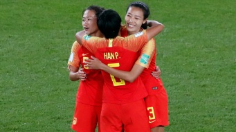 China Beats South Africa 1-0 to Set Up Decider vs. Spain