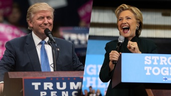 Clinton and Trump Go After Each Other in South Florida