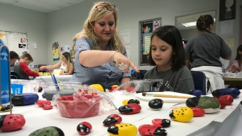 Coral Springs Teacher Building Meditative Space for Students