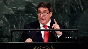 Tillerson Meets Top Cuba Envoy Amid Probe Into 'Attacks'