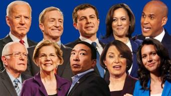 Democratic Debate Guide: Field Set for MSNBC/WaPo Debate