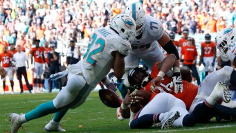 Osweiler, Sanders Help Dolphins Rally Past Bears in OT