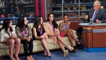 Fierce Five Not Impressed for David Letterman