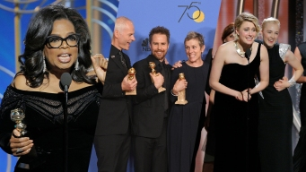 Oprah, 'Three Billboards,' 'Lady Bird' Triumph at Globes