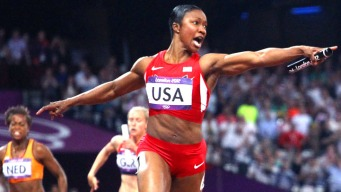 U.S. Women Set Relay Record