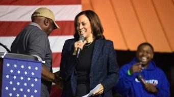 Harris Speaks at Criminal Justice Candidate Forum After All
