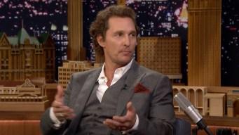 'Tonight': How McConaughey Became Bourbon Brand Director