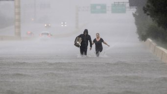 'Slight Re-Strengthening' Possible for Harvey: Forecasters