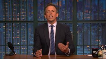 'Late Night': Seth Explains Teen Slang Like iPhone, Louis C.K.