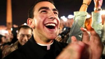 White Smoke, Crowds Celebrate Pope Francis
