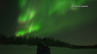 Incredible Northern Lights Put on Show in Finland