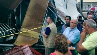 PR Death Toll Rises; VP Pence Visits San Juan