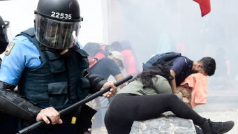 Puerto Rico Protests Against Austerity Measures Turn Violent