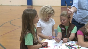 Girl Scout Troop Learns Sign Language