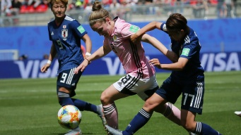 Japan Holds Off Scotland 2-1 at Women's World Cup