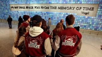 Florida School Shooting Survivors Visit Sept. 11 Museum