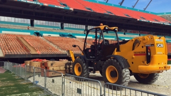 Dolphins Give Preview of Sun Life Renovations