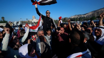 Defiant Syrians Say West Hasn't Shaken Their Resolve