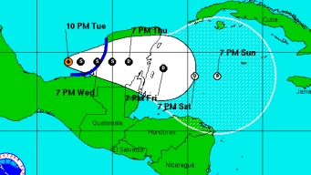 Tropical Depression 9 Forms in Gulf of Mexico
