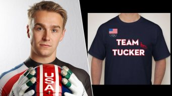 Olympic Luge Matchmaker Dad From CT Mails Fans 1,250 Shirts