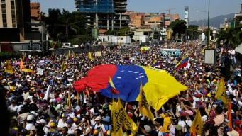 Guaido Calls for Venezuela Defections as Maduro Stands Firm