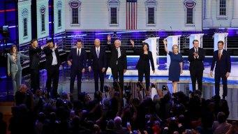 Dem Debate Night 2: Watch Everything Each Candidate Said