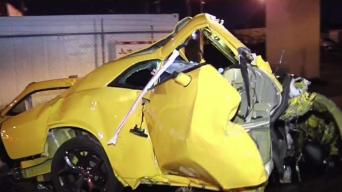 Driver Killed After Crashing Into Metrorail Pole