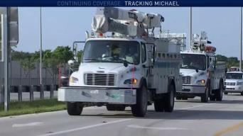 FPL Crews Head to Panhandle to Provide Michael Help