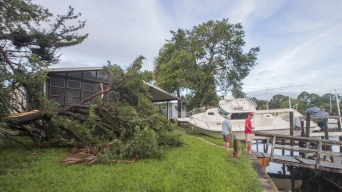 Hermine Weakens to Tropical Storm After Lashing Florida