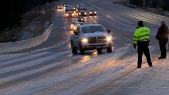 Winter Chill, Snow Hits Southern States