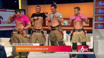 SoFlo Firefighters Pose For a Great Cause