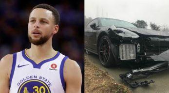 Stephen Curry Involved in Multi-Car Crash in California, Police Say