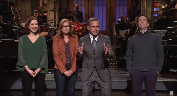 Steve Carell Hosts 'Saturday Night Live', Ella Mai Performs