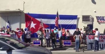 Trump Inauguration Watch Party at Versailles in Little Havana