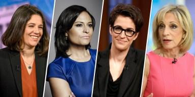 MSNBC Announces All-Female Moderating Team for Nov. Debate