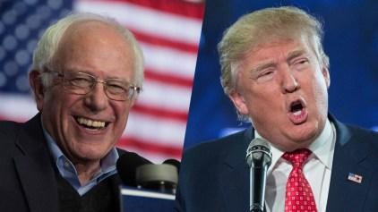 WATCH LIVE: Sanders, Trump Projected Winners in N.H.