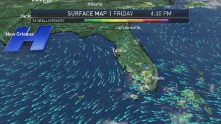 Miami Weather Forecast -- 9 PM -- June 24, 2016