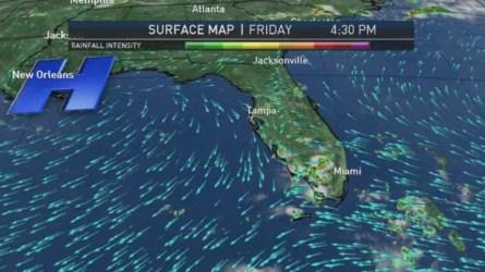 Miami Weather Forecast -- 9 PM -- June 24, 2016