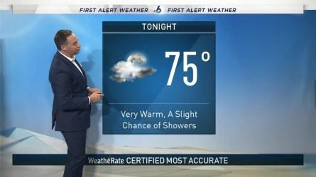 <p>NBC 6 meteorologist Ryan Phillips provides a forecast update.</p>