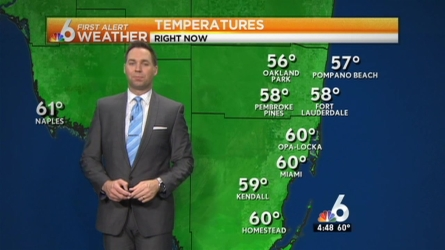 Ryan Phillips says that while things are starting off cool, things will be even cooler overnight and into Thursday. Wednesday will be dry and cool with a high of 66.