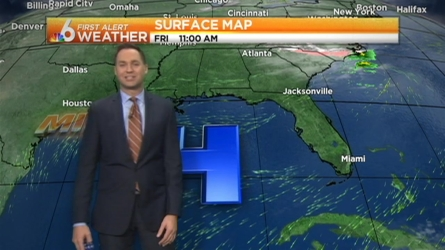 Slightly warmer temperatures are returning to South Florida Friday and on into the weekend. Ryan Phillips says weekend temps will be mild in the mid to upper 80s with some rain chances coming by early next week.