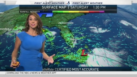 It's been a wet and cloudy Saturday! NBC 6 meteorologist Erika Delgado has your latest South Florida forecast.