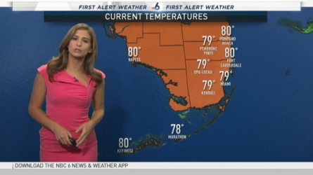 NBC 6 meteorologist Angie Lassman has your latest forecast as Invest 99L passes just south of Florida!