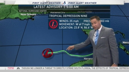 NBC 6's Ryan Phillips has your First Alert Weather forecast for Tuesday.