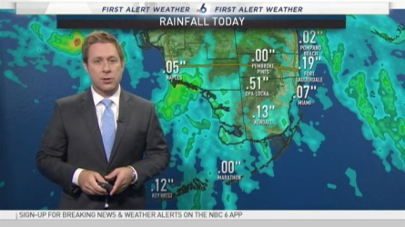 NBC 6's Adam Berg has your First Alert Weather forecast for Tuesday