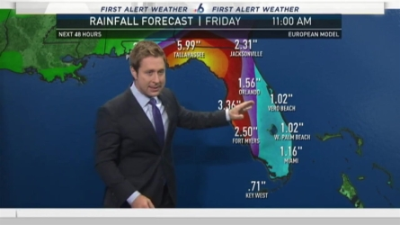 NBC 6's Adam Berg has your First Alert Weather forecast for Wednesday